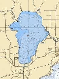 Indian Lake Fishing Map Us_mi_75_69 Nautical Charts App