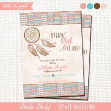 Dream Catcher Baby Shower Invitations baby shower Archives Giggles and Grace Design 69
