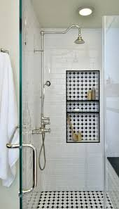 raphael bathroom shower caddy matte black we thought this was such a cool concept having the quotbacksplashquot
