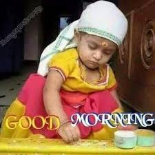 good morning cute baby images free