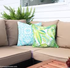 protect outdoor furniture. how to protect your outdoor cushions and deck reveal part one for the extravaganza furniture r