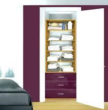 systembuild closet organizer corner unit system build