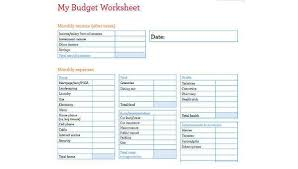 Budget Forms Pdf Free 6 Sample Family Budget Forms In Word Pdf