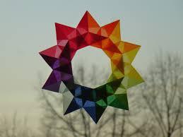 Schön Sterne Basteln Transparentpapier Kinder Basteln
