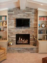 Impressive Fireplaces With Stone Veneer Awesome Design Ideas