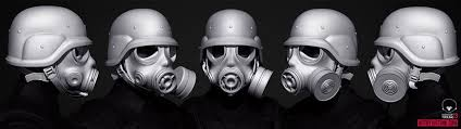 Tsumea - Awesome Gas Mask model by Justin Kirkwood... | Facebook
