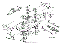dixon ztr 428 1988 parts diagram for wiring assembly mower deck assembly