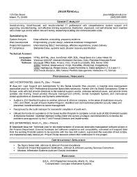 it analyst resume technical analyst resume