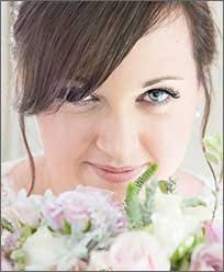 wedding make up in newport south wales by beth