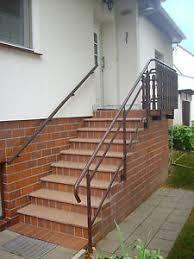 Auf treppen.de finden sie impressionen und informationen zum thema. Treppe Aussen Haus Eingang Podest Naturstein Granit Beton Stufe Tritt Rot Ebay