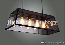 rectangular pendant chandelier rectangular pendant chandelier loft box chandelier rectangular pendant lamp iron chandelier loft bulb