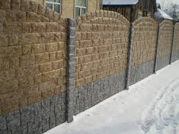 Small Picture Brick Wall Fence Designs House In With Various Outside Fencing