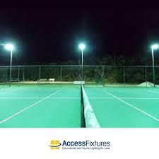 pulse start metal halide tennis court 6 fixture night net