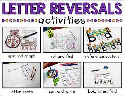 Letter Reversals | Activities, Teacher and Literacy