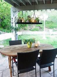 outdoor table lighting ideas. Give An Old Light Fixture New Life Outdoor Table Lighting Ideas