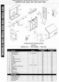Aprilaire Filter Chart Aprilaire 550 550a 558 560 560a 568 Complete Parts List