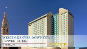 westin denver downtown denver hotels colorado