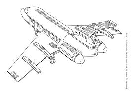 Coloriage Avion Les Beaux Dessins De Transport Imprimer Et