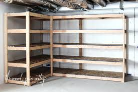wood storage shelves plans wood shelving units for storage tier wooden