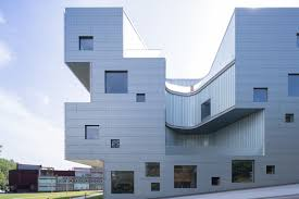 Visual Arts Building At The University Of Iowa Steven Holl