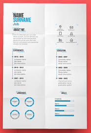 Graphic Resume Templates Custom Unique Resumes Templates Free 48 R Sum Designs Every Job Hunter