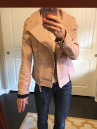 spain j crew denim jacket review mackage hania moto leather jacket cognac and pink 5c639