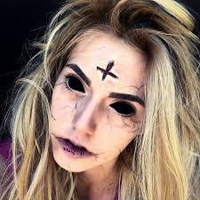 annabelle demon makeup