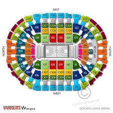 Quicken Loans Arena Seating Chart Cavaliers Quicken Loans Seating Chart