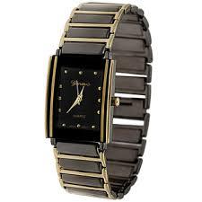 gold men s watches shop the best deals for 2017 geneva platinum black dial fashion men s watch