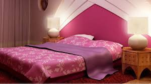 Pink Wallpaper For Bedroom Pink Background And Pink Bed In Bedroom Wallpaper