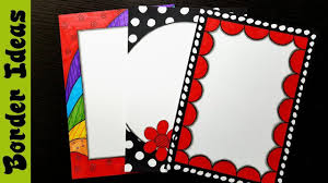 Assignment Front Page Border Designs Britto Border Designs On Paper Border Designs Project