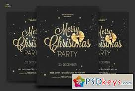 Flyer Formats Golden Christmas Flyer 2 Formats 1069772 Free Download