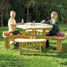 round wood picnic table outdoor round wooden picnic bench large folding wood picnic table plans wood