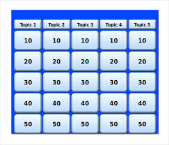 Jeopardy Game Template Magdalene Project Org