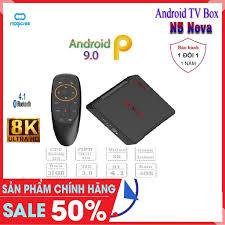 Android Tivi Box Magicsee N5 Nova - Chip RK3318 - Ram 4GB. Rom 32GB,  Android 9.0 -Kèm Điều Khiển Voice - Bảo Hành 1 Năm