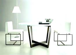 modern round kitchen table modest intended oval dining tables sets humble abode contemporary