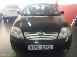2006 Toyota Corolla L40i used car for sale in Johannesburg City ...