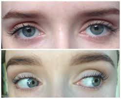 eyelash curler before and after no mascara. top: before, with mascara bottom: after, no eyelash curler before and after l
