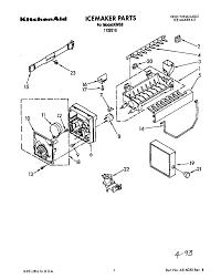 kitchenaid superba ice maker parts diagram new kitchenaid repair manual refrigerator kitchenaid 21 9 cu ft