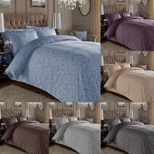 details about jacquard 600 thread count cotton rich fl duvet cover set oxford pillowcases