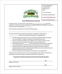 Free Landscaping Contracts Rome Fontanacountryinn Com