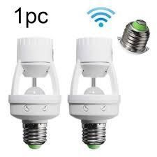 E27 Motion Sensor Light Lamp Socket Adapter For Led Light Lamp Base