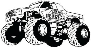 Small Picture Monster Truck Coloring Pages Grave Digger Printable vonsurroquen