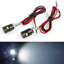 Bolt Beam 12mm Led Light Amazon Com Metermall 2pcs Car License Plate Light