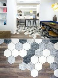 hexagon kitchen floor tiles best ideas on honeycomb traditional incredible hexagonal tile intended for 6 kitchenaid