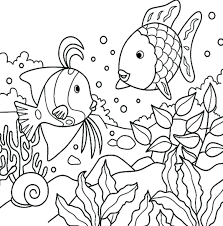 Small Picture Breathtaking Realistic Sea Animal Coloring Pages Kids Coloring