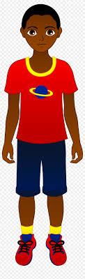 Teen african american clipart