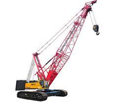 China Sany Scc1500e 150 Ton Crawler Crane Jib Crane For Sale