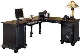 home office desk l shaped. Home Office Desks Black Desk L Shaped