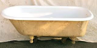 antique clawfoot tub foot refinishing antique clawfoot tub damaged plumbing